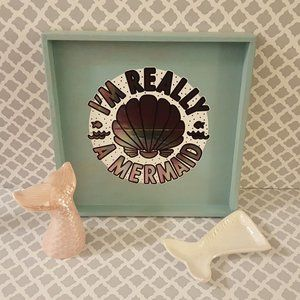 Other - Mermaid lovers lot - tray, mermaid tail, and tray